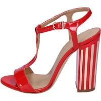 Chaussures Femme Sandales et Nu-pieds Marc Ellis sandales cuir verni bleu