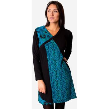 Vêtements Femme Robes Coton Du Monde ABAYA Bleu