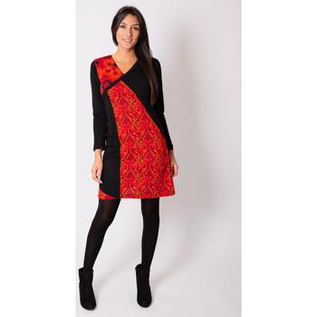 Vêtements Femme Robes Coton Du Monde ABAYA Rouge