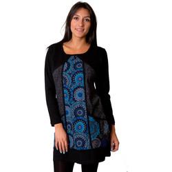 Vêtements Femme Robes Coton Du Monde INATYA Noir
