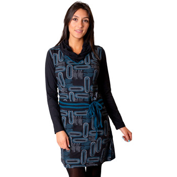 Vêtements Femme Robes Coton Du Monde Kamba Noir