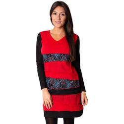 Vêtements Femme Robes Coton Du Monde Manta Rouge