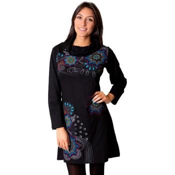 Vêtements Femme Robes Coton Du Monde Robe NAKURA Noir
