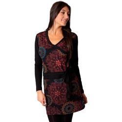 Vêtements Femme Robes Coton Du Monde Robe ORIZA Noir