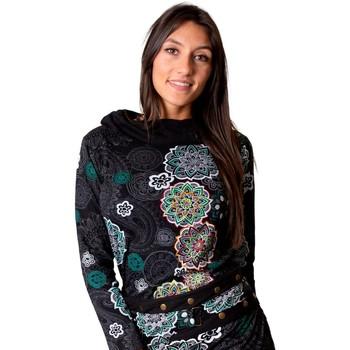 Vêtements Femme Tops / Blouses Coton Du Monde Top MALAWI Noir