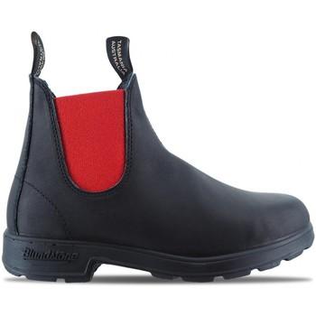 Chaussures Homme Boots Blundstone 508 Bottes El Side noir  BSTBCCAL0020 0508 Noir