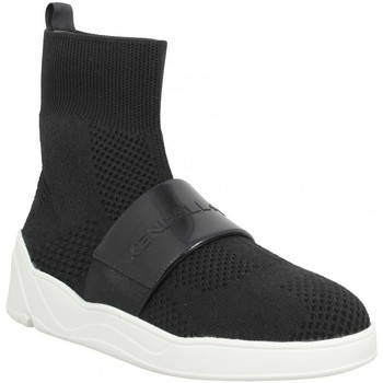 Chaussures Femme Baskets montantes Kendall + Kylie KENDALL + KYLIE Eddie lycra Femme Noir Noir