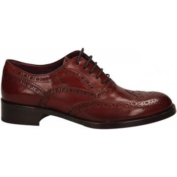 Chaussures Femme Derbies Calpierre VIREL CLIR BO castano