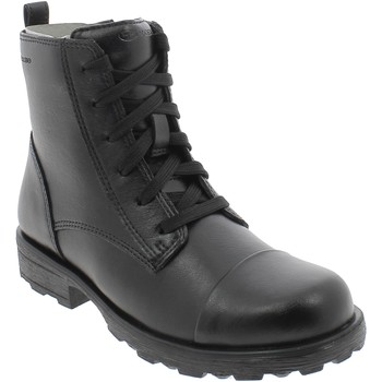 Chaussures Homme Boots Geox J OLIVIA NERI Noir