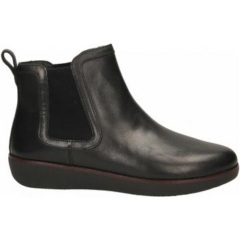 Chaussures Femme Bottes ville FitFlop CAI CHELSEA black