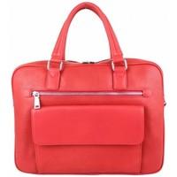 Sacs Femme Porte-Documents / Serviettes Fuchsia Sac à main cabas arrondi  F1598-9 Rouge Multicolor