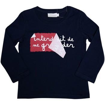 Vêtements Enfant T-shirts manches longues Interdit De Me Gronder L'AFFICHE Bleu