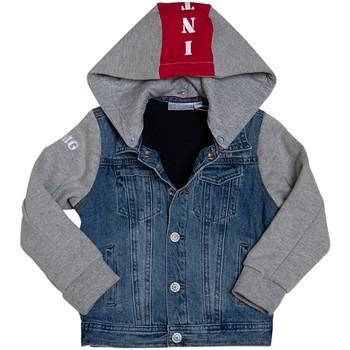 Vêtements Enfant Vestes Interdit De Me Gronder SKIN Bleu marine