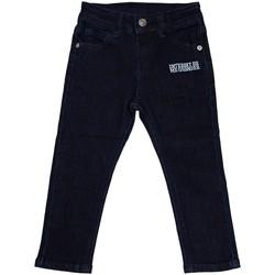 Vêtements Fille Jeans droit Interdit De Me Gronder KLIX Bleu marine