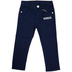Vêtements Garçon Jeans droit Interdit De Me Gronder SLOKA Bleu marine