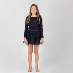 Vêtements Fille Robes Interdit De Me Gronder SUN Bleu marine