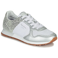 Chaussures Femme Baskets basses Pepe jeans VERONA Blanc