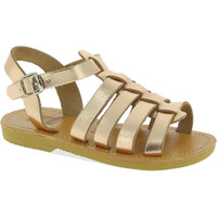 Chaussures Fille Sandales et Nu-pieds Attica Sandals PERSEPHONE CALF GOLD-PINK oro