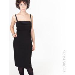 Vêtements Femme Robes courtes Yours-Paris ROBECCA NOIR