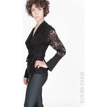 Vêtements Femme Pulls Yours-Paris JADE NOIR