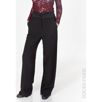 Vêtements Femme Pantalons Yours-Paris ALICE NOIR