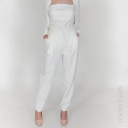 Vêtements Femme Pantalons Yours-Paris CHLO? BLANC