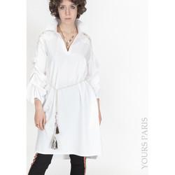 Vêtements Femme Chemises / Chemisiers Yours-Paris MARION BLANC