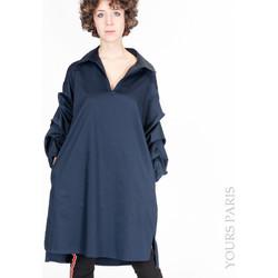 Vêtements Femme Chemises / Chemisiers Yours-Paris MARION MARINE