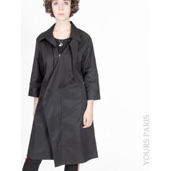Vêtements Femme Coupes vent Yours-Paris ANNA NOIR