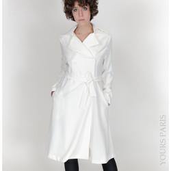 Vêtements Femme Vestes Yours-Paris AMBRE BLANC