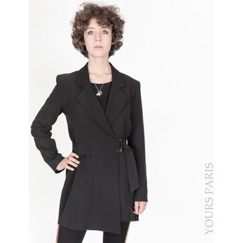 Vêtements Femme Vestes Yours-Paris AMBRE NOIR