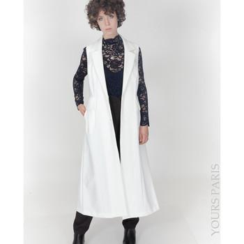 Vêtements Femme Vestes Yours-Paris ANIE BLANC