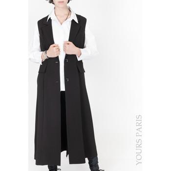 Vêtements Femme Vestes Yours-Paris ANIE NOIR