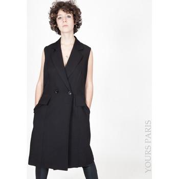 Vêtements Femme Vestes Yours-Paris JULIA NOIR