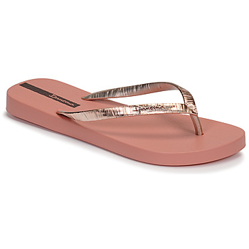 Chaussures Femme Tongs Ipanema GLAM II Rose / Doré