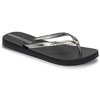 Chaussures Femme Tongs Ipanema GLAM II Noir / Argent