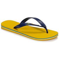 Chaussures Homme Tongs Ipanema CLAS BRASIL II Jaune / Bleu