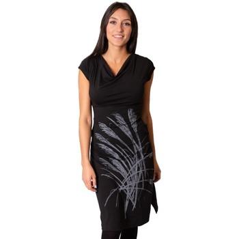 Vêtements Femme Robes Coton Du Monde Robe MONTANA Noir