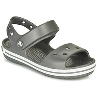 Chaussures Enfant Sandales sport Crocs CROCBAND SANDAL KIDS Black / White