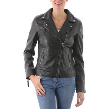 Vêtements Femme Vestes en cuir / synthétiques Gipsy PGG Noir Noir