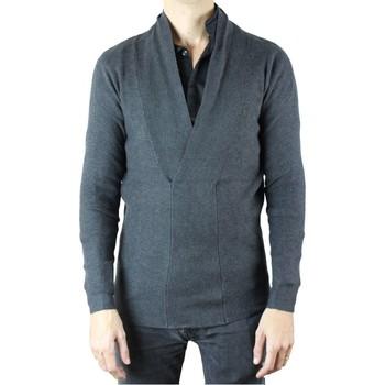 Vêtements Homme Gilets / Cardigans Kebello Cardigan H Gris Gris