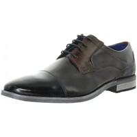 Chaussures Homme Derbies & Richelieu Bugatti Chaussures de ville  cuir ref_47832 Bleu Bleu
