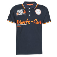 Vêtements Homme Polos manches courtes Geographical Norway KOCEAN Marine