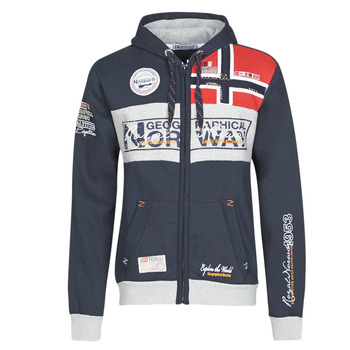 Vêtements Homme Sweats Geographical Norway FLYER Marine