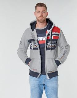 Vêtements Homme Sweats Geographical Norway FLYER Gris chiné