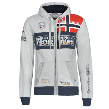 Vêtements Homme Sweats Geographical Norway FLYER Gris chiné