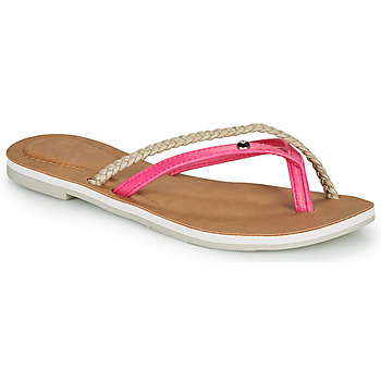 Chaussures Femme Tongs Oxbow M1VASTANA Rose