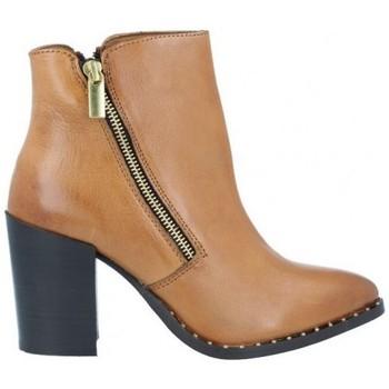 Chaussures Femme Bottines Azarey Azarey 465C920 Botines Casual con Tacón de Mujer Marron