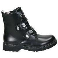 Chaussures Fille Boots Asso AG3702 Noir