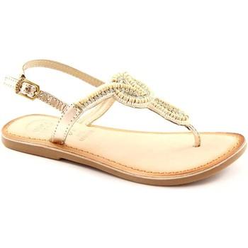 Chaussures Fille Sandales et Nu-pieds Gioseppo beldad 26246 or sandales dorées infradfito enfant perles de str Beige